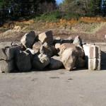 Large Hand Rock